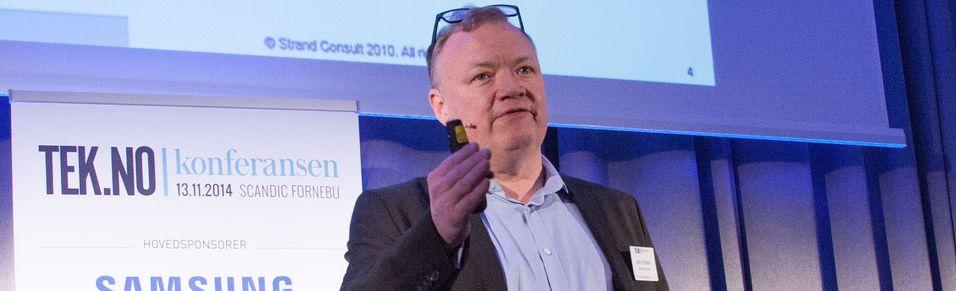 John Strand i Strand Consult forventer at det blir skapt åpenhet rundt hva som faktisk skjedde i den mislykkede sluttspurten i forsøke på å fusjonere Teliasonera og Telenor i Danmark. .