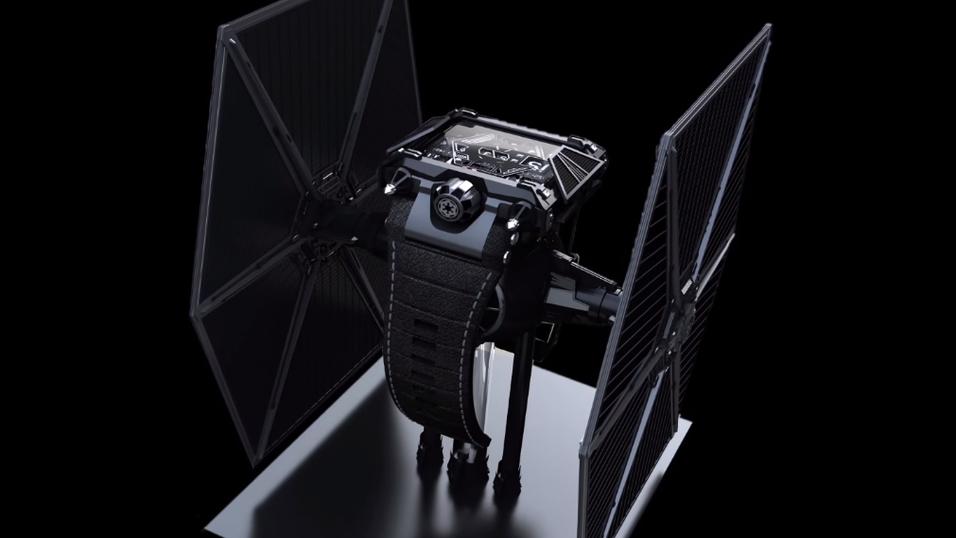 Den nye klokken «Devon Star Wars», til godt over 200 000 kroner.