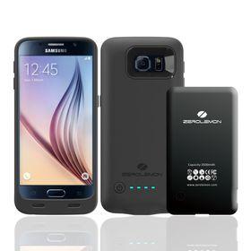 Batteridekselet til Samsung Galaxy S6 Edge (eller S6) har utbyttbart batteri, et stort pluss.
