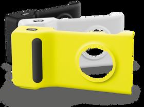 Slik ser kameragrepet med innebygget batteri ut til Nokia Lumia 1020.