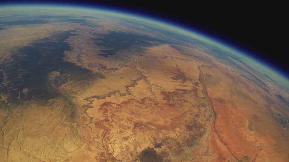Sendte GoPro opp i stratosfæren