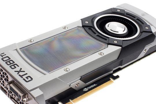Nvidias referanseutgave av GeForce GTX 980 Ti.