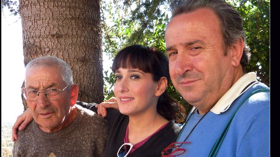 Tre generasjoner Fucci.