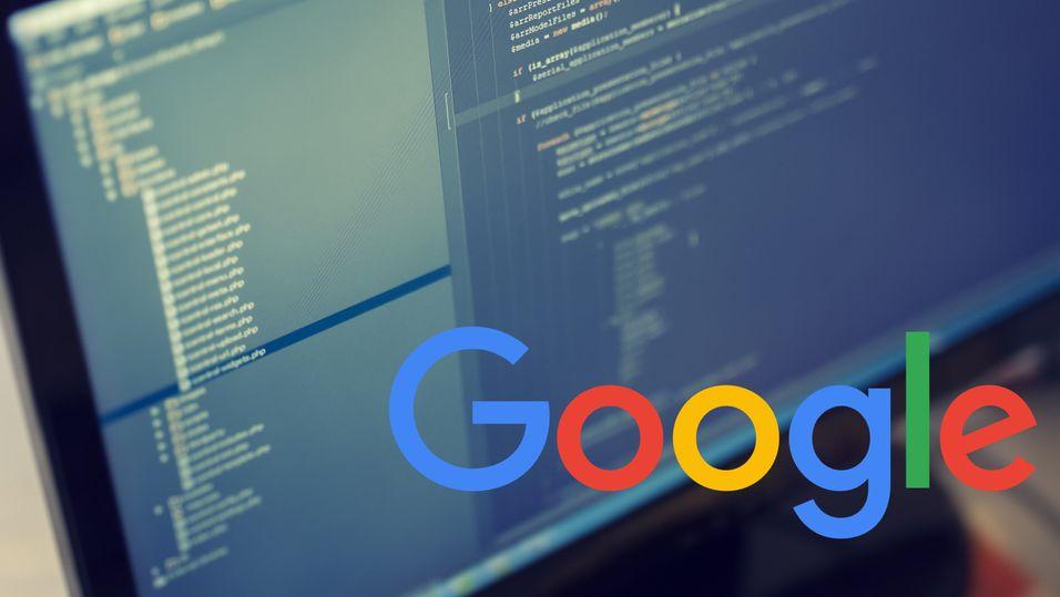 Så mye kode består hele Google av