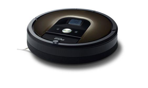 Ikke så veldig skummel robot: iRobot Roomba 980.