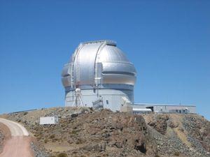 Bildene er tatt av Gemini South-observatoriet i Chile.