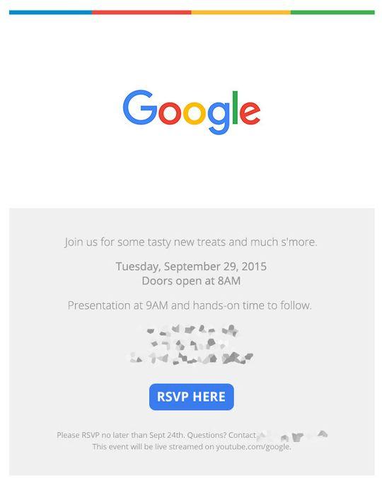 Slik ser invitasjonen fra Google ut.