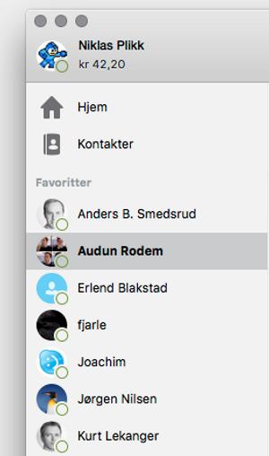 Vi merker også problemene med Skype.