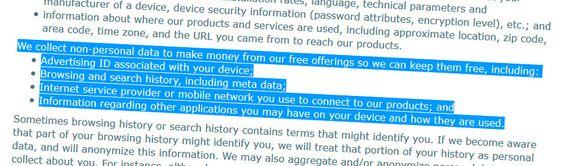 Den viktigste delen av brukeravtalen for deg som bruker gratis sikkerhetsprogramvare fra AVG.