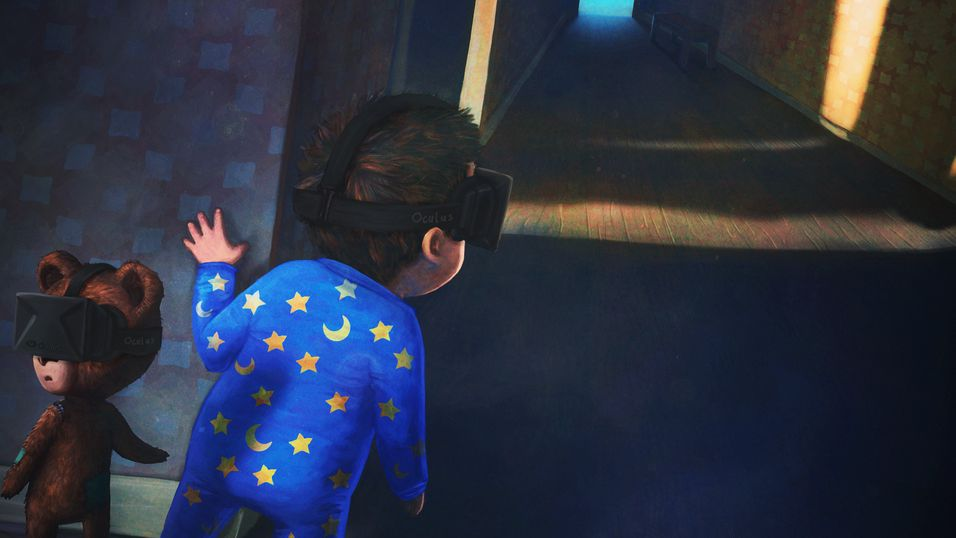 Krillbite skroter VR-versjonen av Among the Sleep