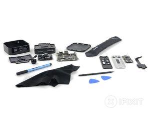 Dette er alle komponentene til nye Apple TV.