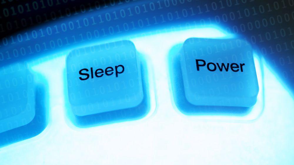 GUIDE: Datamaskinen har mange måter å hvile på