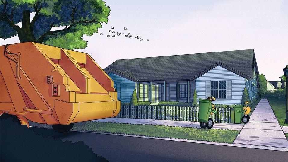 Volvo vil at roboter skal tømme søpla di
