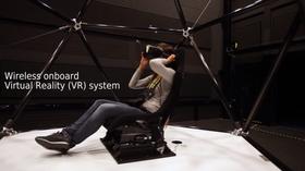 Systemet er kompatibelt med Oculus Rift-brillene.