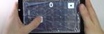 Les Denne skjermen «lager» fysiske knapper ved behov