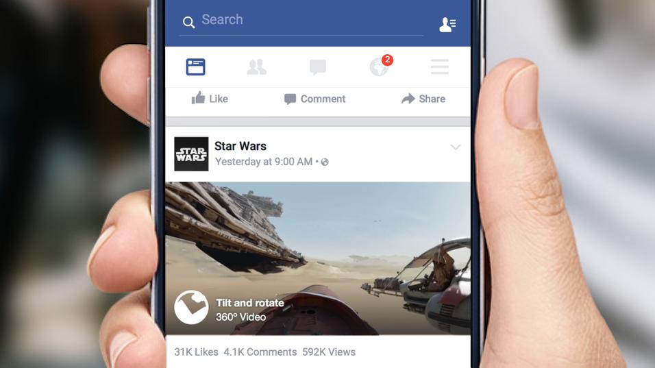 Nå kan du se helt spesielle 360-graders videoer på Facebook