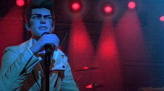 Rock Band 4 følger den samme grafiske stilen som i tidligere spill.