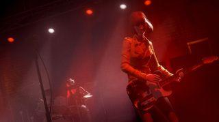 Rock Band 4 følger den samme grafiske stilen som forgjengerne.