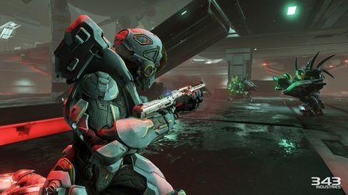 Halo 5: Guardians lovar å by på mykje heftig action.