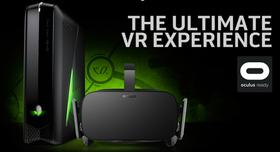 Alienware er blant dem som skal lansere de «Oculus-klare» PC-ene.