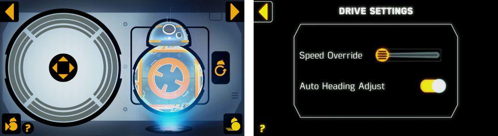 Det er forholdsvis enkelt å styre Sphero BB-8. I hvert fall når den har kommet i gang. Men stiller du hastigheten til topps blir den mer utfordrende.