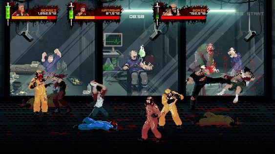 Opptil fire spillere kan spille sammen.