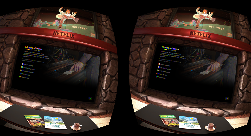 SNIKTITT: Kle på deg en kinosal med Samsungs Gear VR
