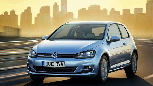 Volkswagen Golf TDI – avbildet her – er blant modellene som er påvirket av utslippsjukset.