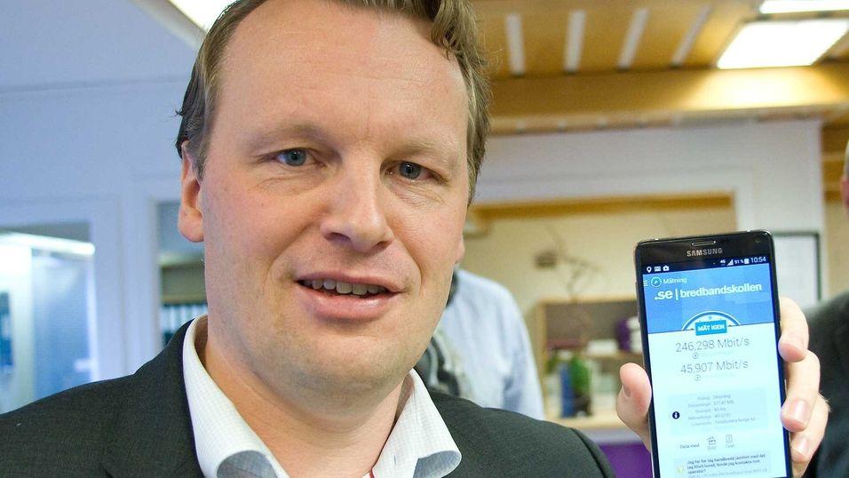 Teknisk direktør Jon Christian Hillestad i Teliasonera svarer på Bjørn Amundsens kritikk av selskapets 4G-markedsføring.