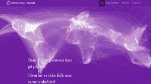 Internet.org ønsker å bringe nettet, inkludert Facebook, til alle.