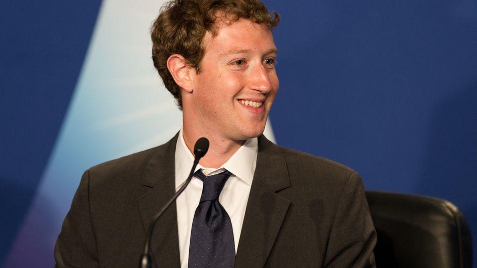 Facebook-sjefen Mark Zuckerberg.