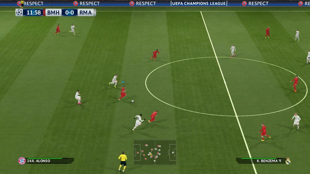 Xabi Alonso i aksjon mot Real Madrid.