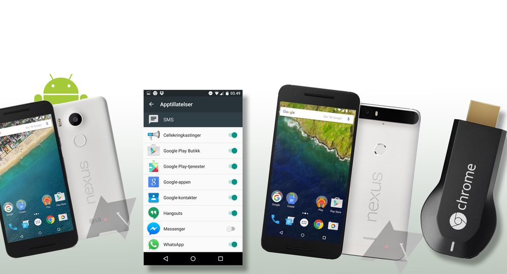 Ny og forbedret Android der du selv kan velge apptillatelser er blant nyhetene som står på menyen for i kveld.