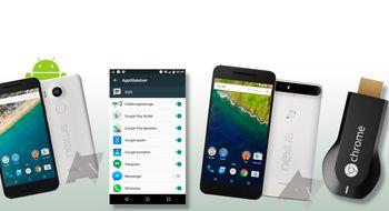 To nye Nexuser, splitter ny Android og en ny strømmepinne
