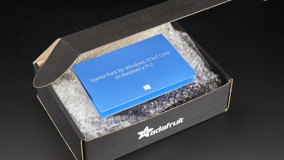 Denne pakken gjør det enkelt å bygge hjemmelagde Windows 10-dingser
