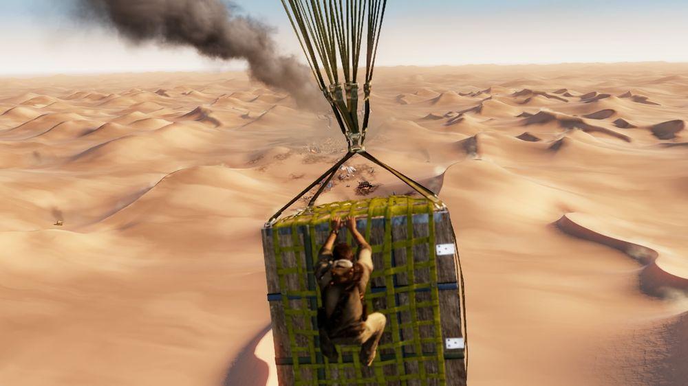 Skulle tenkt på følgene av å styrte et fly midt i en ørken. Hva nå?