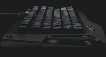 Logitech slipper lite spilltastatur med stort navn