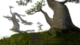Wreden går fra The Stanley Parables kontorlandskap til noe som ligner på en skog.