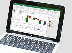 Den nyeste versjonen av Microsoft Excel.