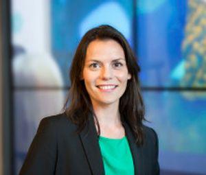 Kommunikasjonsdirektør Vibeke Hansen hos Microsoft Norge.