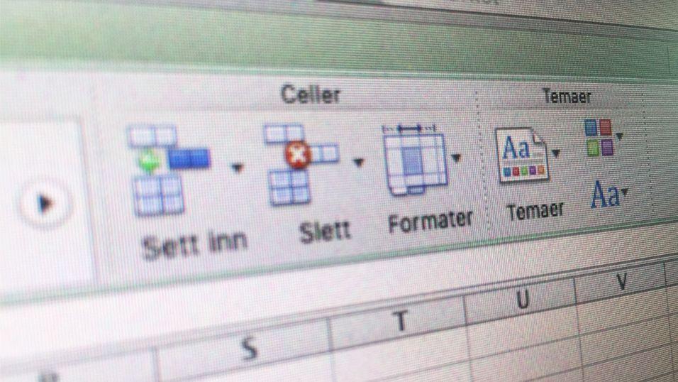 Microsoft arrangerer NM i Excel