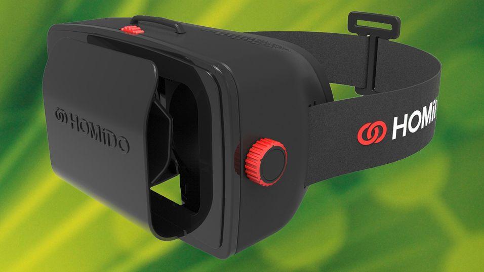 Se om du vant VR-briller til mobilen din