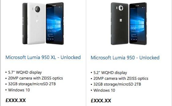 Microsoft blåste begge sine nye toppmodelle på sine nettsider i dag, én uke før den offisielle lanseringen.