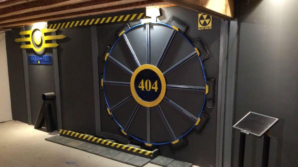 Hobbysnekker bygget Fallout-hvelv i kjelleren