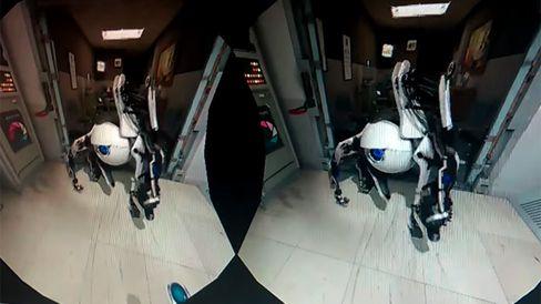 Valve har også snust på å lage VR-demoer. Denne ebrukte Portal 2-figurene.