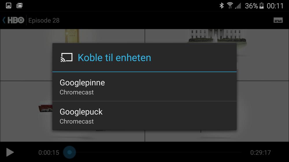 HBO Nordic støtter endelig Chromecast. Løsningen fungerer bra, men er litt tregere enn Netflix.