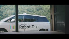 Slik se selvkjørende taxiene ut. Bildet er hentet fra promo-videoen.