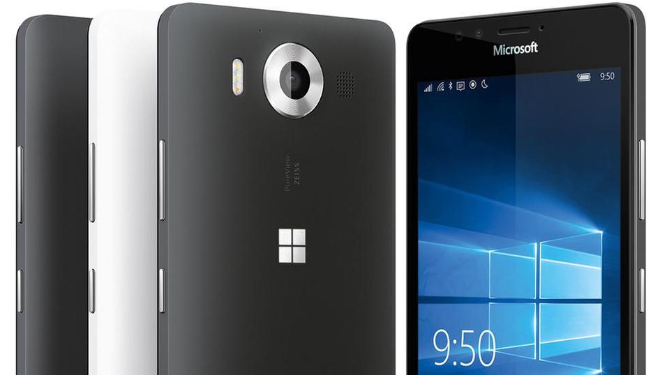 Det nye, lekkede bildet av Lumia 950.