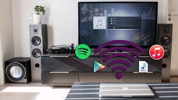 Slik strømmer du Spotify og Tidal gratis til stereoanlegget