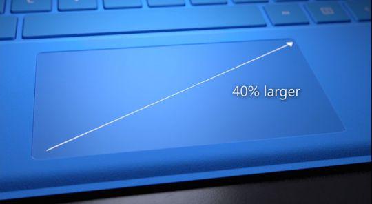 Styreflaten har økt i størrelse med 40 prosent.